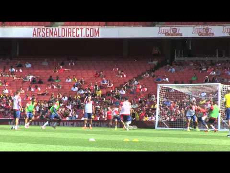Alexis Sanchez and Yaya Sanogo combine for great Arsenal goal