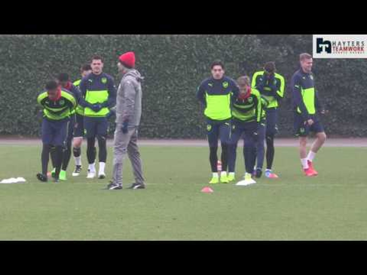 Sanogo trains alone as Arsenal get ready for Bayern