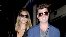 Robin Thicke and April Love Geary Welcome First Child