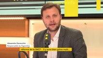 """Syndicats de cheminots opposés à la réforme de la #SNCF : """"Bloquer le pays pendant un mois, c'est une vraie menace pour le gouvernement. Si on allait à l'épreuve de force, ce serait un coup dur"""", estime Alexandre Devecchio, responsable du Figaro Vox"""
