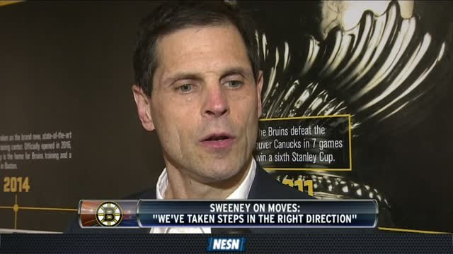 Don Sweeney On The Bruins' Hectic NHL Trade Deadline Week