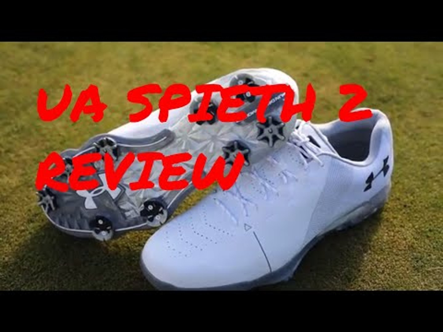 pintor Ineficiente Incentivo  Under Armour Spieth 2 golf shoe review: lighter and more comfortable -  video Dailymotion