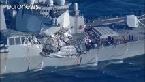 Several sailors missing after US navy ship collision