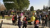 Israel: truck 'rams soldiers' in Jerusalem, casualties reported