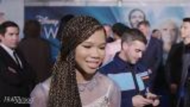 """Storm Reid Says Ava DuVernay Teaches Her to """"Always Be Myself"""" and """"Always Do the Work""""   'A Wrinkle in Time' Premiere"""