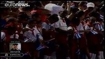 Fidel Castro's funeral procession reaches final destination