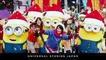 USJ ミニオン・ハチャメチャ・クリスマス・パーティ TVCM 2017