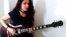 Rammstein - Links 234 Guitar Cover  Noelle dos Anjos