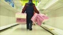 Taiwan's toilet paper shopping spree