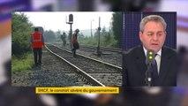 """#SNCF Les usagers sont les """"grands absents"""" du rapport Spinetta pour Xavier Bertrand  """"il n'y a rien sur les investissements pour la sécurité, pour que les trains arrivent à l'heure, il n'y a rien de rien"""""""