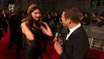 Anya Taylor Joy Loves The Shape of Water _ Red Carpet Interview _ EE BAFTA Film Awards 2018