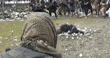 Afganistan'da Zina Yapan Adamı Recm Ettiler