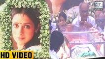 (Video) Sridevi Taken For LAST RITES | Jhanvi Kapoor, Anil Kapoor, Arjun Kapoor