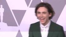 Thimotée Chalamet, le plus jeune comédien nommé pour l'oscar du meilleur acteur - 28/02/2018