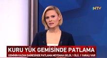 Sinop'ta Yük Gemisinde Patlama! Çok Sayıda Ambulans Sevk Edildi: 1 Ölü 1 Yaralı