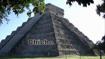Carte postale de Chichen itza