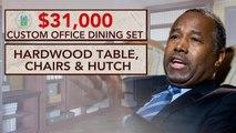 Ben Carson reportedly spent $31K on HUD office dining set