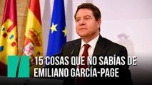 Emiliano García-Page: 15 cosas que no sabías