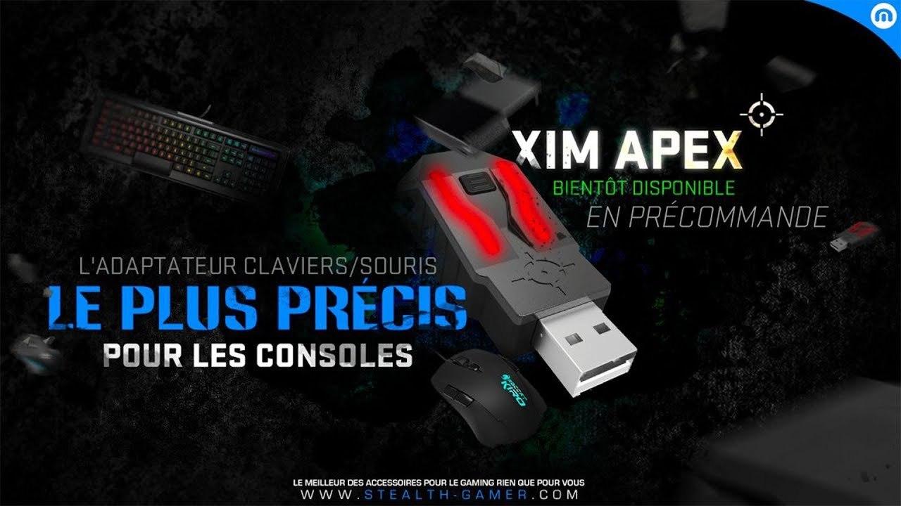 XIM APEX - Configuration experte | No-Pad fr
