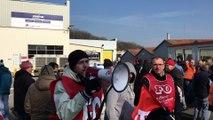 Grève chez Peugeot Japy à Valentigney (Doubs) pour éviter 58 licenciements