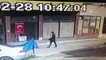 Eski Eşi ile Kayınbiraderini Öldürüp Yaralı Halde Kaçtı - Zanlının Kaçışı Kamerada