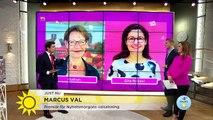 Premiär för Marcus val 2018 - Nyhetsmorgon (TV4)