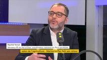 """Passe d'armes entre Marine Le Pen et Laurent Wauquiez au Salon de l'Agriculture : """"Il y a une forme de concurrence. Wauquiez essaie de prendre des parts de marché sur son électorat"""", réagit Rachid Temal, coordinateur national du Parti socialiste"""