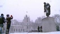 Ola de frío siberiano deja más de 40 muertos en Europa