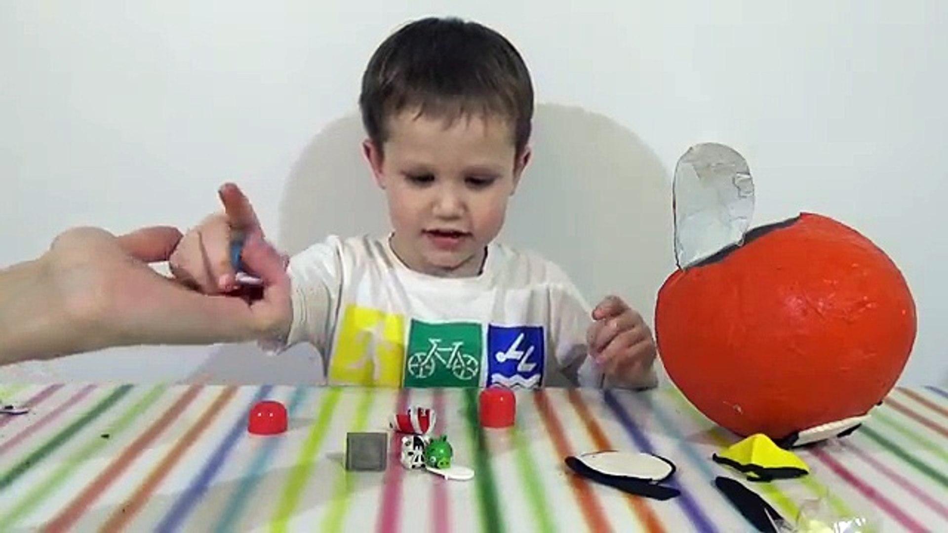 Huevo sorpresa gigante Angry Birds juguetes Géant de surprise œufs Angry Birds jouets