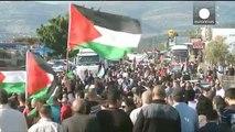 Palestinians and Arab Israelis mark 40th anniversary of 'Land Day'