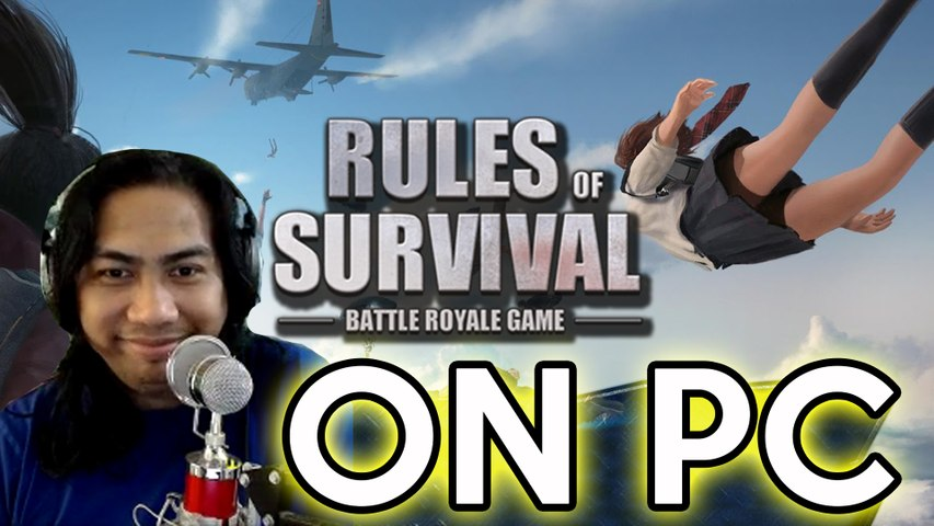 RULES OF SURVIVAL - FIRST TIME SA PC by Sir Rex