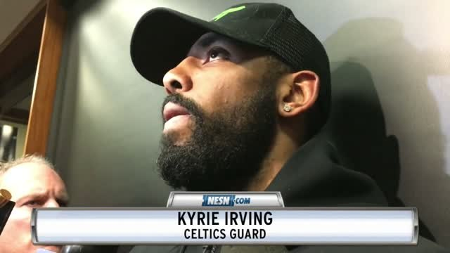 Kyrie Irving Reveal Celtics' Biggest Difference Since All-Star Break