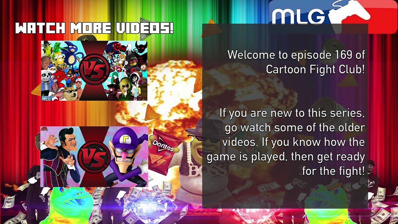 Sanic Vs Saness Mlg Vs Undertale Meme Cartoon Fight Club Episode 169
