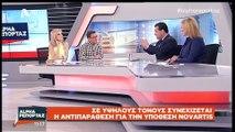 "Novartis- Αδωνις Γεωργιαδης vs Αδωνι Γεωργιάδη ""Πείτε μου πότε έδωσα €65εκ στην Novartis"""