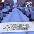Neige :  56 départements en vigilance orange neige-verglas