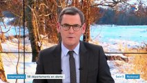Intempéries : l'Hérault sous la neige