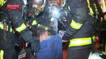 Incendie à Paris : 13 blessés dont trois graves