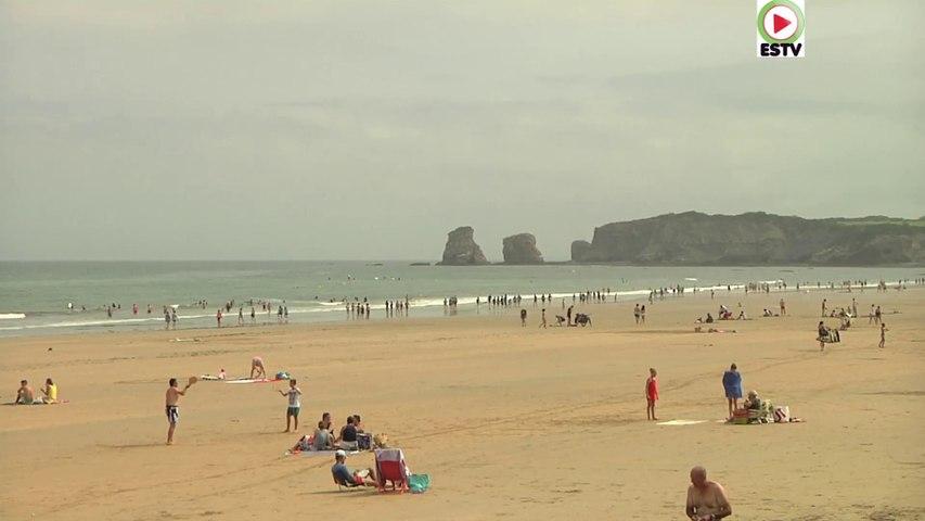 Hendaye: Plages et Grandes Marees - Euskadi Surf TV