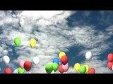 アルファチャンネル付動画素材「風船」