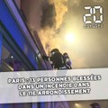 Paris: 13 personnes blessées dans un incendie dans le 11e arrondissement