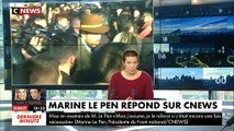 Mise en examen pour avoir relayé des photos d'exactions de Daesh sur Twitter, Marine Le Pen réagit