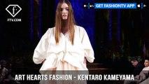 New York Fashion Week Fall/Winter 18 19 - Art Hearts Fashion -  Kentaro Kameyama | FashionTV | FTV
