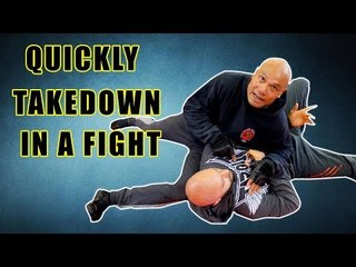 How to take someone down quickly in a fight | Street Fight