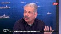 """""""L'arme nucléaire paralyse souvent la réflexion sur comment résoudre les conflits"""" : Patrice Bouvert #UMED"""