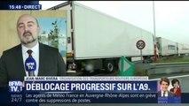 """A9: """"Il y a eu un déficit d'informations en amont"""", pour Jean-Marc Rivéra, des Transporteurs routiers européens"""