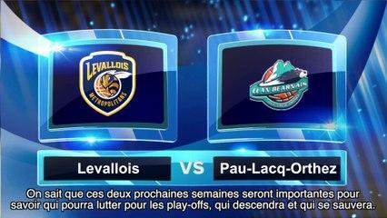 Avant match avec Louis Campbell, Levallois Metropolitans - Pau-Lacq-Orthez