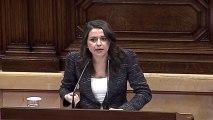 Intervención de Inés Arrimadas en el Parlament