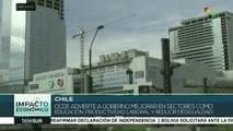 OCDE advierte a Chile mejorar educación y reducir desigualdad