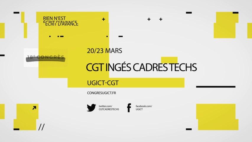 18ème congrès de l'Ugict CGT