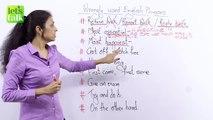Common Errors Made While Speaking English - Wrongly used English Phrases (Speak Fluent English)